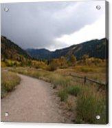 Walking Trail In Colorado Acrylic Print
