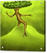 Walking Tree  Acrylic Print