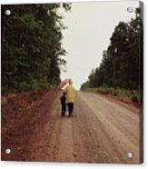 Walking Up North With Grandma Acrylic Print