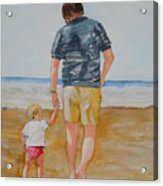 Walking With Pops Acrylic Print