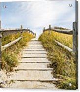Walkpath To The Beach Acrylic Print