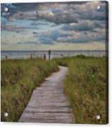 Walkway To The Beach Acrylic Print
