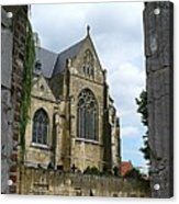 Walkway To Thorn Cathedral Acrylic Print