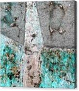 Wall Abstract 118 Acrylic Print