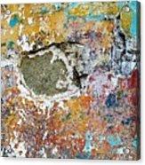 Wall Abstract 196 Acrylic Print