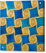Wall Decoration From The Temple Of Amun At Malqata Acrylic Print