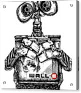 Wall-e Acrylic Print