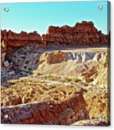 Wall Of Goblins In Carmel Canyon Trail In Goblin Valley State Park, Utah Acrylic Print