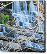 Wall Of Water Acrylic Print