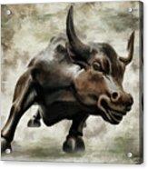 Wall Street Bull Viii Acrylic Print