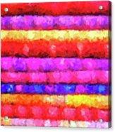 Wallart-multicolor Design Acrylic Print