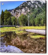 Wallowa Lake Reflections Acrylic Print