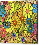 Wallpaper 1972 Acrylic Print