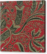 Wallpaper Sample With Bamboo Pattern By William Morris Acrylic Print
