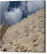 Walls Of Jerusalem Acrylic Print