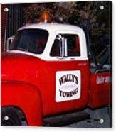 Wallys Service Truck Acrylic Print