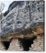 Walnut Canyon National Monument Cliff Dwellings Acrylic Print
