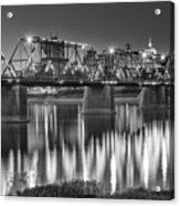 Walnut Street Bridge And Capitol Acrylic Print