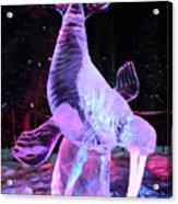 Walrus Ice Art Sculpture - Alaska Acrylic Print