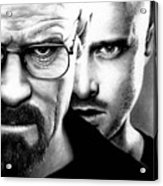 Walt And Jesse Acrylic Print