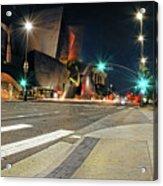 Walt Disney Concert Hall - Los Angeles Art Acrylic Print