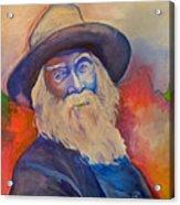 Walt Whitman Acrylic Print
