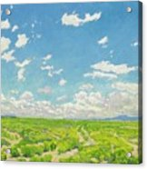 Walter Ufer 1876 - 1936 The American Desert Acrylic Print