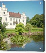 Wanas Castle Duck Pond Acrylic Print