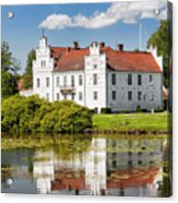 Wanas Slott With Reflection Acrylic Print