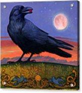Wanderer's Moon Acrylic Print