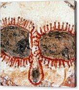 Wandjina Face Acrylic Print