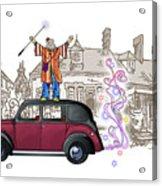 Wandmaster On The Beardmore Acrylic Print