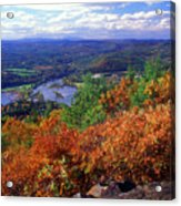 Wantatisquet Mountain Foliage Acrylic Print