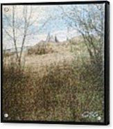 Wanuskewin Heritage Park Mosaic Acrylic Print