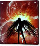 War Angel Acrylic Print