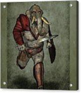 War Beast Acrylic Print