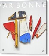 War Bonnet Acrylic Print