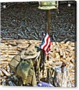 War Dogs Sacrifice Acrylic Print by Carolyn Marshall