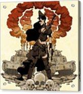 War Maiden Acrylic Print by Brian Kesinger