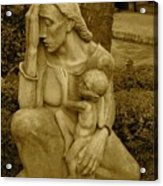 War Mother By Charles Umlauf Acrylic Print