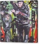 war Acrylic Print