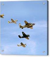 Warbirds Acrylic Print