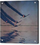 Warbirds On Mission Acrylic Print