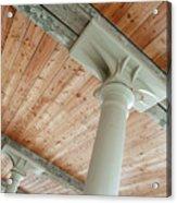 Warehouse Columns Acrylic Print