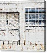 Warehouse Doors And Windows Acrylic Print