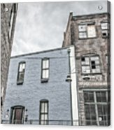 Warehouse Row Acrylic Print
