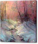 Warm Glow Acrylic Print