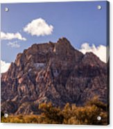 Warm Light In Red Rock Canyon Acrylic Print