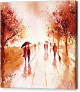 Warm Rain Acrylic Print
