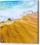 Warm Sand Acrylic Print